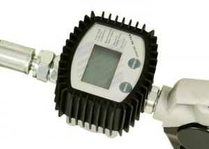 China Digital Flow Meter Oil Control Valve Dispenses In Liter , Gallon , Pint And Quart on sale
