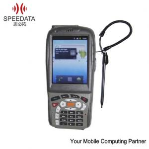 China Wireless GPRS Rugged Android Mobile Rfid Reader , Handheld Data Collection Terminal on sale