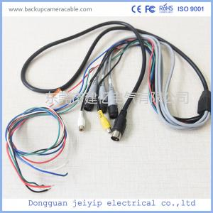 China Waterproof Camera Monitor Cable , Rear View Camera Cable 20 Pin 1 Male To 4 Female Connector on sale