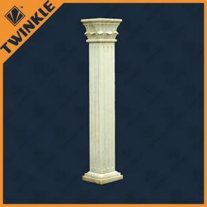 China Interior Architectural Natural Stone Column , Square Decorative Columns on sale