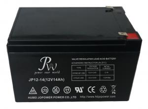 China Control Systems Valve Regulated Lead Acid Battery , AGM SLA Battery 12V 14Ah on sale