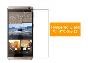 China HTC One E9 2.5 D Tempered Glass Film Screen Protector 9H Anti Fingerprint on sale