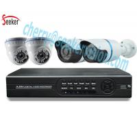 China 4 Channel H.264 ahd dvr kit 1080N 1.3 megapixel bullet and dome hd cctv home security camera system on sale