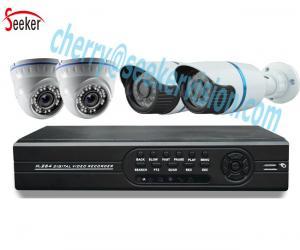 China 4ch CCTV Camera System 4ch Digital DVR CCTV Camera DVR Kit Hybrid 4ch AHD 1080N h.264 ahd dvr kit on sale