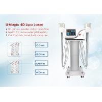 Zerona Lipo Laser Slimming Machine , Laser Liposuction Machine Painless