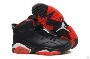 China Supply wholesale Air Jordan 6 AAA black shoes on koonba.com on sale