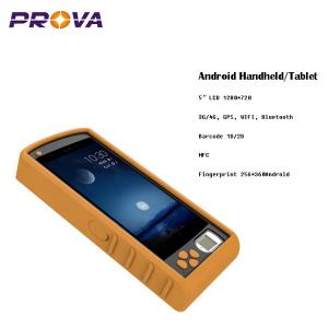 China Android Handheld Fingerprint Scanner Device HD1280*720 LCD Display on sale