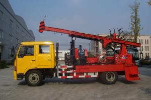 China G-2 Natural Gas Truck Mounted Drilling Rig , Trailer Mounted Drilling Rigs on sale