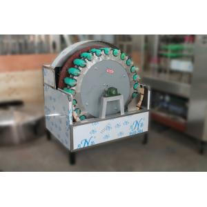 China Rotary Beer Bottle Washing Machine , 5 Gallon Bottle Washer 1800-2000 Bottles / H Speed on sale