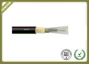 China Loose tube stranding fiber optic cable with FRP also Thunder-proof cable GYFTY on sale