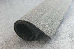 China Eco Friendly Soft Grey Wool Felt Sheet, 100% Pure Wool Felt For Industrial on sale