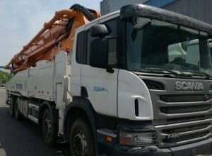 China Best sale!! Zoomlion  used concrete pump truck 52m 56m, Used Truck-mounted Concrete Pump  52,56m on sale