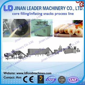 China Double screw Extruder Snacks Food Processing Line on sale