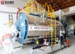 1T / H To 20 T / H Gas Oil Fuel Fired Boiler , WNS Fire Tube Boiler