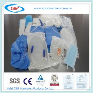 Quality CE&ISO Approved Disposable Surgical Dental Drape Pack with EO Sterile for sale