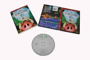 China Hot selling The lion king 1/2  Cartoon Disney DVD Movies,new dvd,bluray on sale