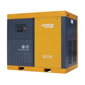 China 10 bar electric screw air compressor two stage air-compressor 110kw,150hp on sale