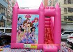 Commercial Bounce House Slide Inflatable Jumping Bouncy Castle For Play Center