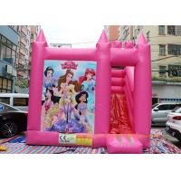 China Commercial Bounce House Slide Inflatable Jumping Bouncy Castle For Play Center on sale