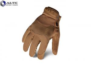 China Armored Military Tactical Gloves Silica Gel Fire Resistant Soft High Friction on sale