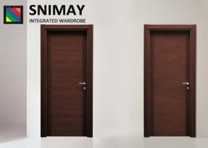 Marvelous Romania Standard Wooden Interior Doors / Inside Doors For House