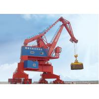 China Mobile Harbour Single Jib Portal Gantry Crane For Container Handling / Shipbuilding on sale