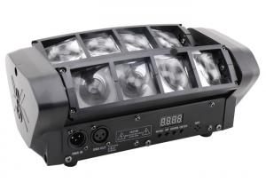 China 8 Eyes Rgbw 4 in 1 Led Beam Disco Stage Lights Moving Head Black Plastic Housing on sale