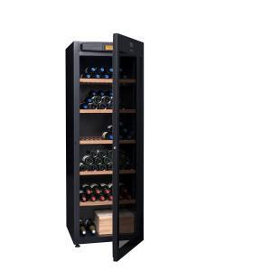 China Multi Temperature Liquor Storage Cabinet , Modern Wine Storage Case Climadiff DVP265G on sale
