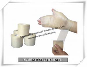 China Colored Bandage Wrap Soft Sports Underwrap Tape Powerflex PU Foam Skin Protection on sale