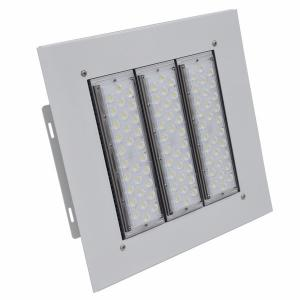 China Filling station LED Canopy Lights 100w 150w 200w IP66 IK10 surface mounted Installation on sale
