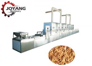 China Black Soldier Fly Microwave Dryer Dried Mealworm Machine 1 Year Complete Warrantly on sale