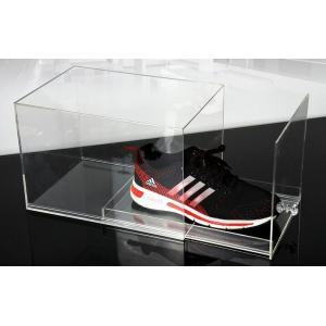 China Fashion Plexiglass Display Shoe Drawer Case / Plastic Acrylic Shoe Box Storage Organizer on sale