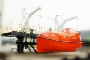 China 2017 MED  Certificate FRP 100 Persons Totally Enclosed Motor-Propelled Survival fibre craft viking lifeboats on sale
