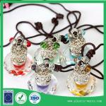 DIY hang style reuse glass perfume bottle 4 ml for car using