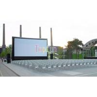 Entertainment Large Outdoor Inflatable Movie Screen For Square / Commercial Inflatable Billboard