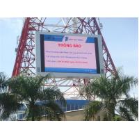 Anti – shock outdoor advertising led screen , P20 shopping mall led display panel