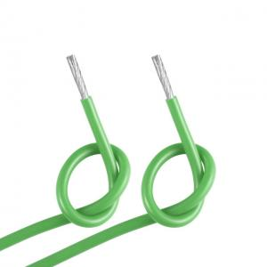 China 600V 200C Silicone Battery Cable , High Heat Resistant Wire UL CUL CSA Certificated on sale