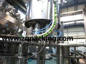 China Carbonated drinks bottling machine on sale