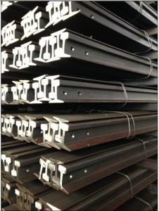 Coal Mine Light Steel Crane Rail Sections / Standard Mining
