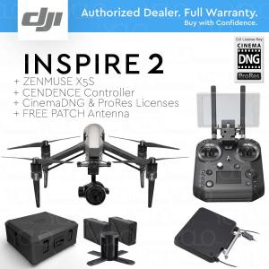 China DJI INSPIRE 2 RAW LC3 + Cendence + X5S + Cinema DNG, ProRes + FREE PATCH Antenna and Hard Case on sale