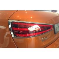 China Audi Q3 2012 Car Headlight Covers Chromed Plastic ABS For Tail Light on sale