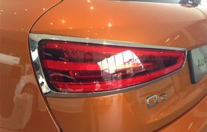 China ABS plástico cromado cubiertas 2012 de la linterna del coche de Audi Q3 para la luz de la cola on sale