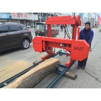 SH27 Portable Wood Cutting Band Sawmill band saw machine,portable band saw,horizontal band sawmill