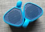 Rubber Hi-Fi Stereo Outdoor Waterproof Bluetooth Speakers For Fitness/ Entertainment