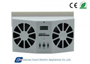 China Automatically Running Solar Trailer Vent Fan 500ma Current For Heat Reduction on sale