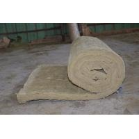 Residential Rockwool Insulation Blanket With Wire Mesh / Fiberglass Cloth