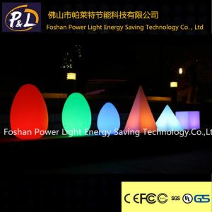 China Outdoor Garden Display Egg Shape LED Night Lamp on sale