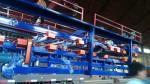 China Cold Room Sandwich EPS Panel Production Line , Roll Forming Machine 13 Rows Rollers wholesale
