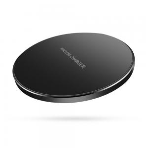 China Ultra Thin Slim  Wireless Phone Charger For IPhone X / Samsung Galaxy Note 8 on sale