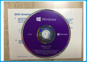 Quality Windows 10 Pro Software OEM English / French / Italian / Russian/Japanese online for sale